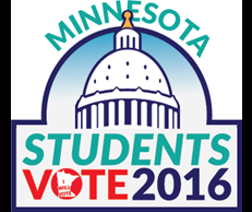 students vote 2016 logo
